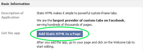 document adding HTML to a page