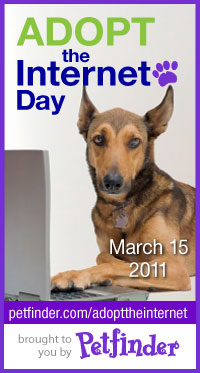 Petfinder Adopt-the-Internet Day 2011 logo