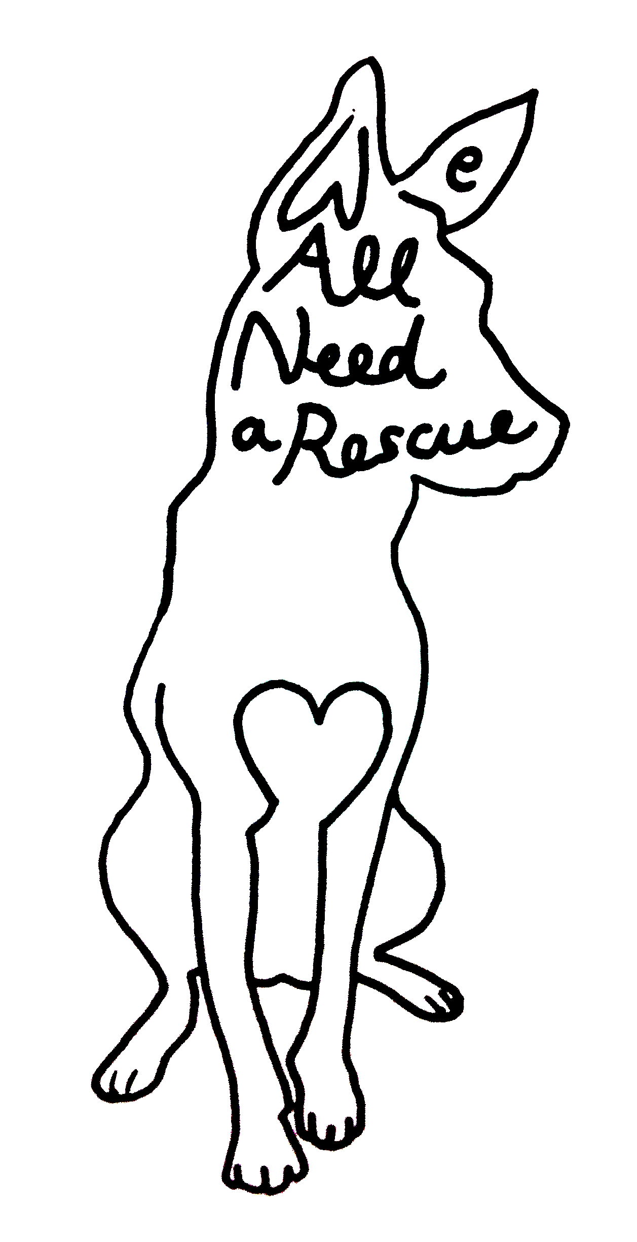 We All Need a Rescue K9 Rescue