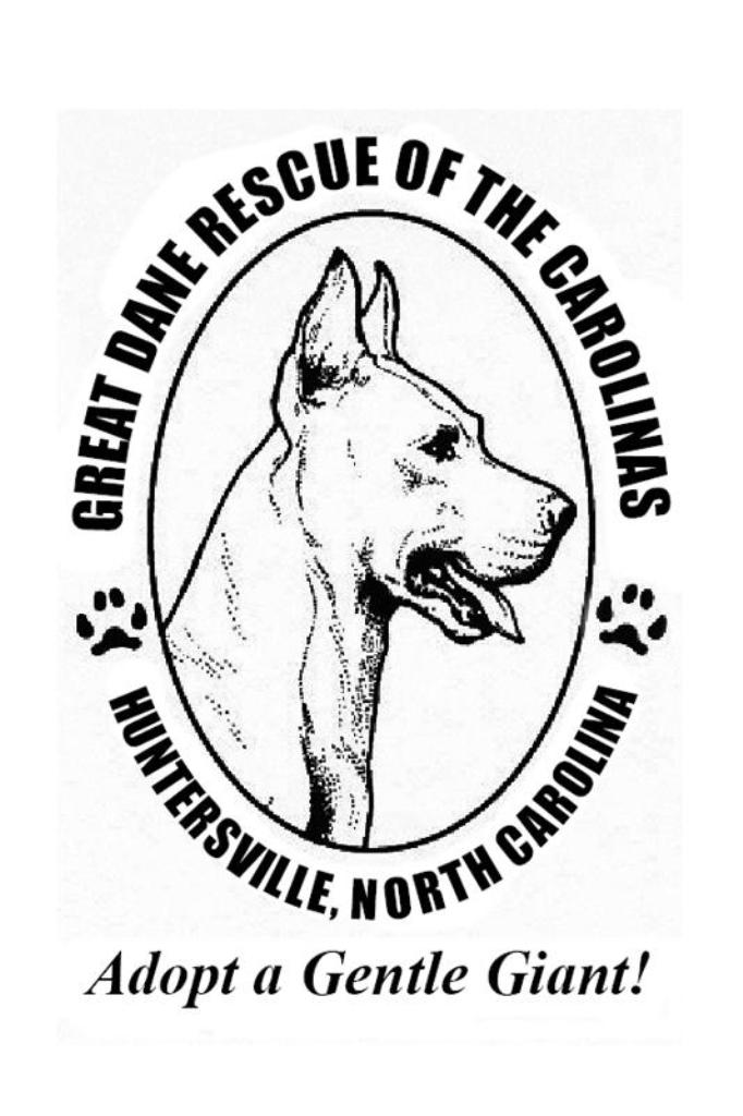 Great Dane Rescue of the Carolinas Inc.