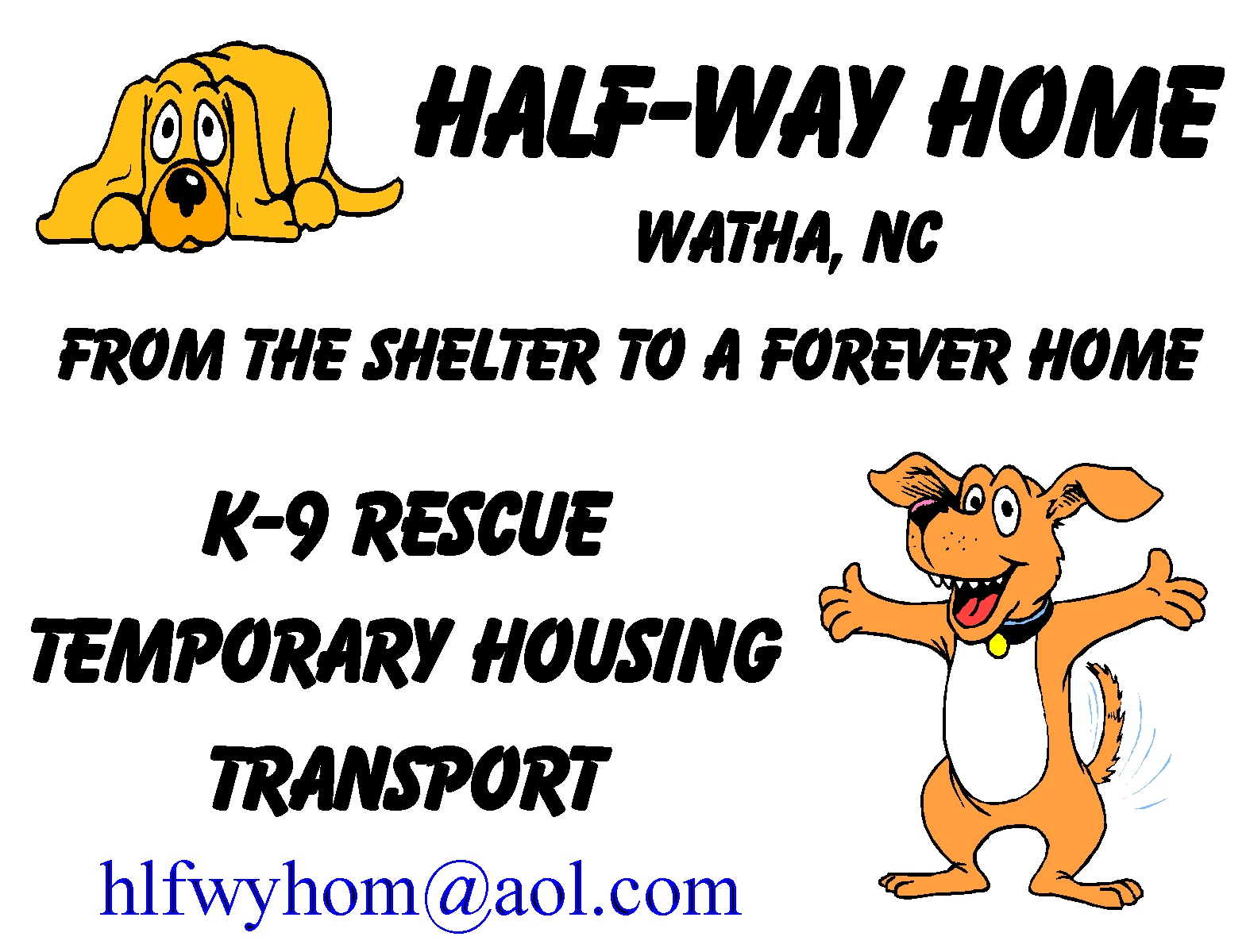 Half-Way Home Canine Rescue, Inc