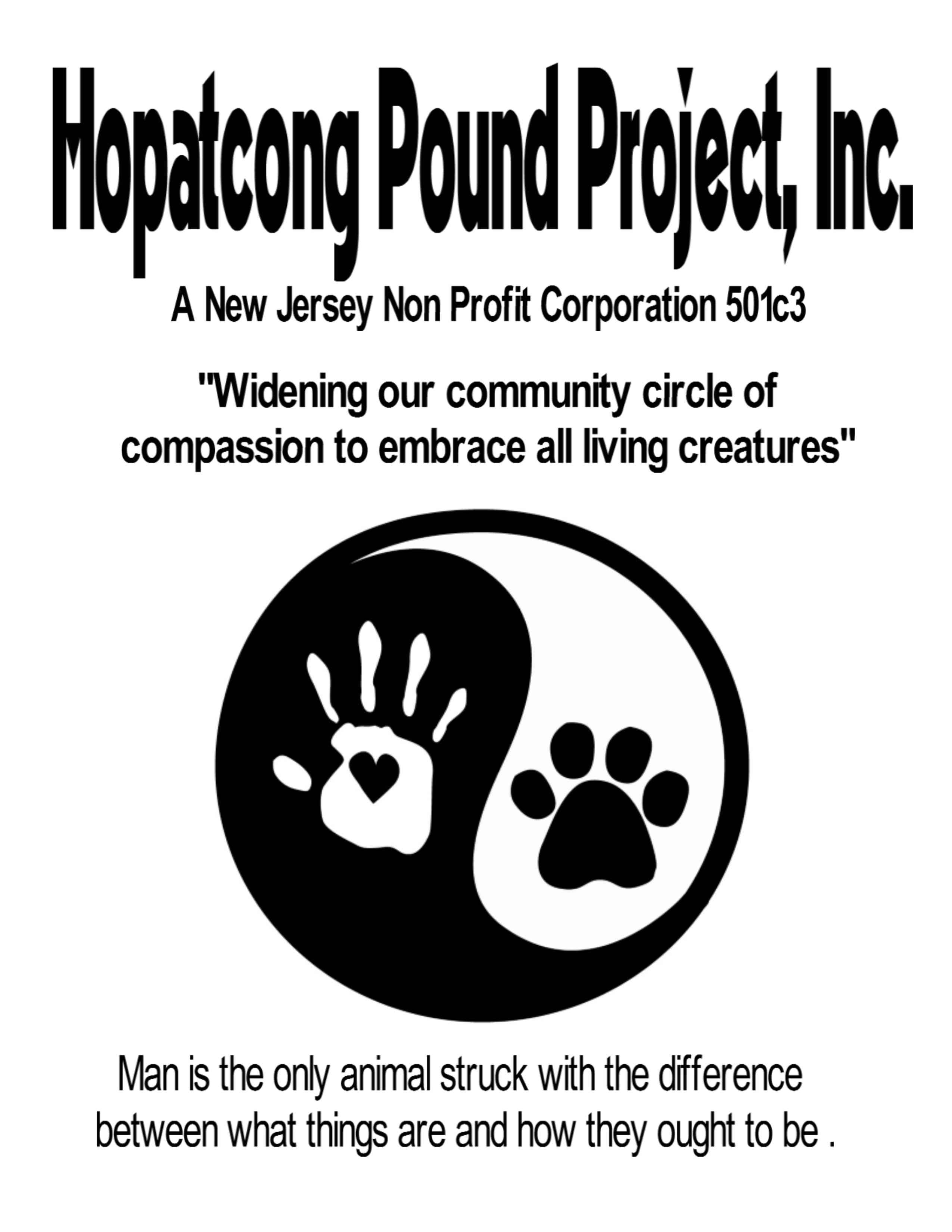 Hopatcong Pound Project , Inc