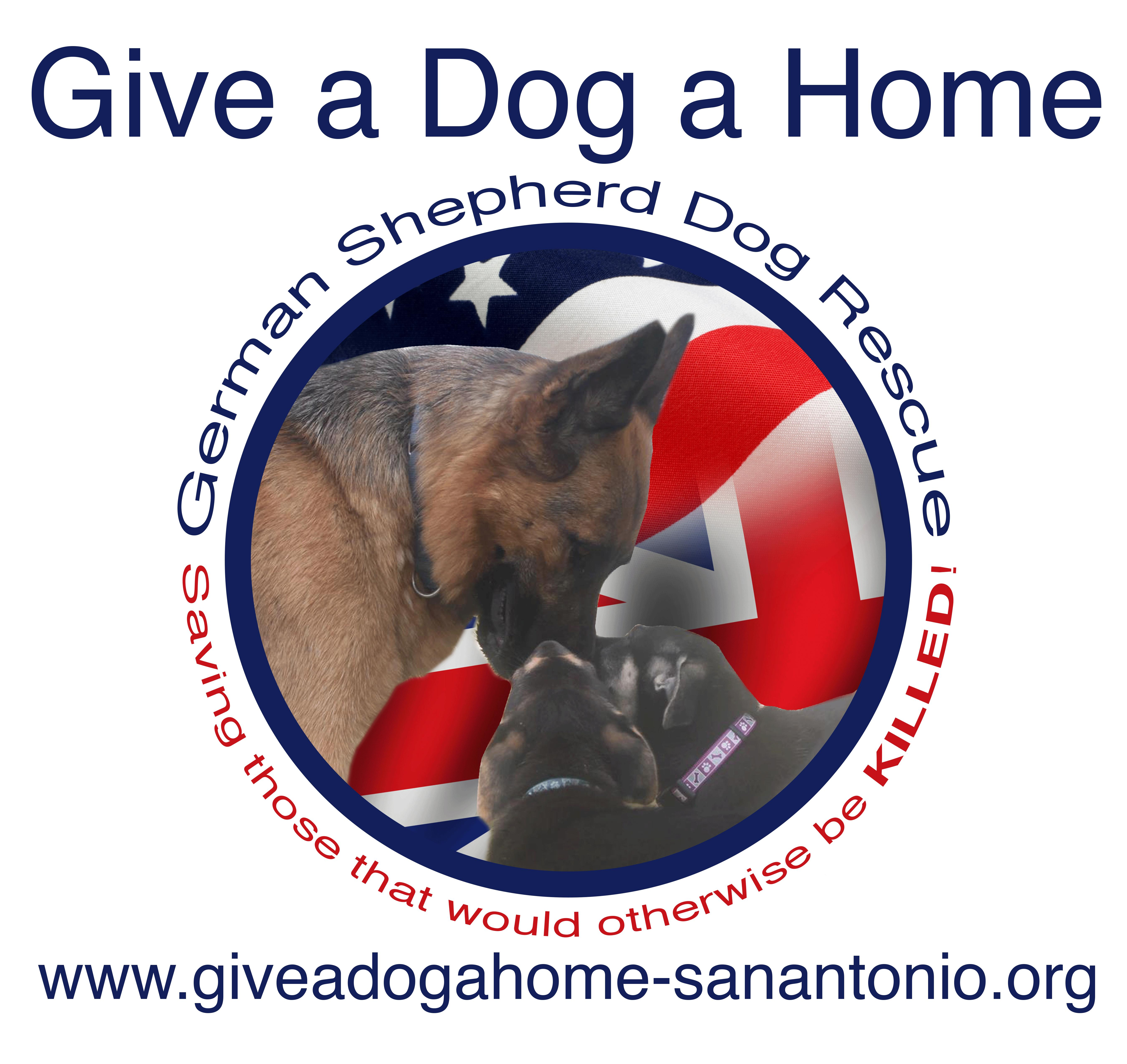 Give a Dog a Home, German Shepherd Dog Rescue