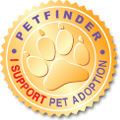 Petfinder adoption seal
