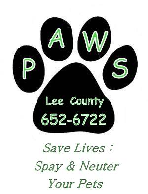 PAWS Lee County