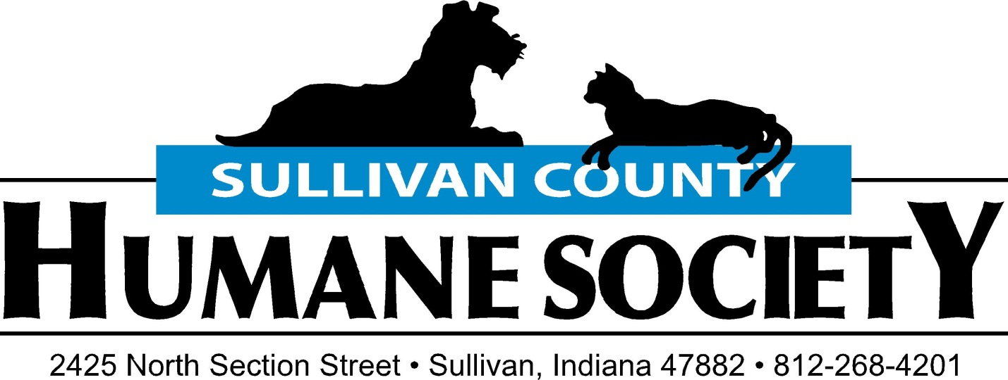 The Humane Society of Sullivan County