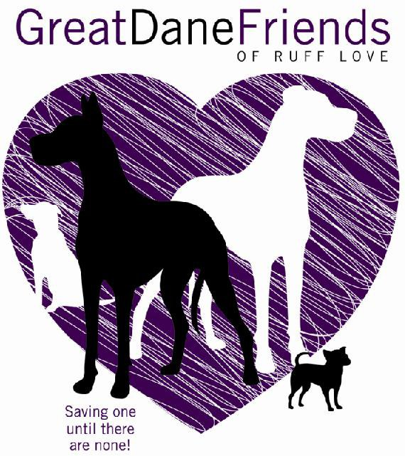 Great Dane Friends of Ruff Love