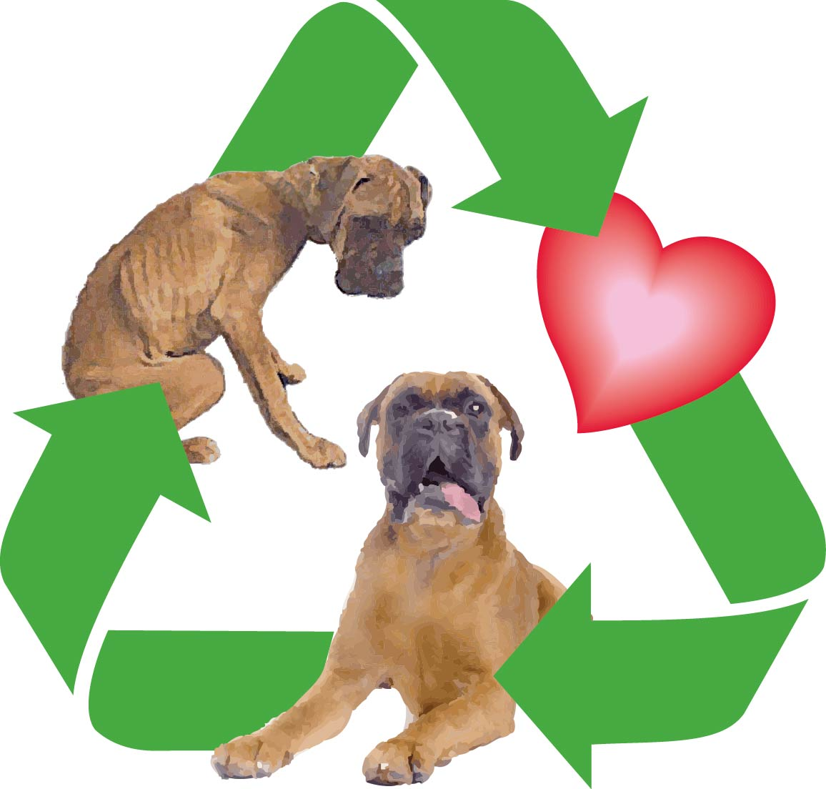 Recycled Doggies