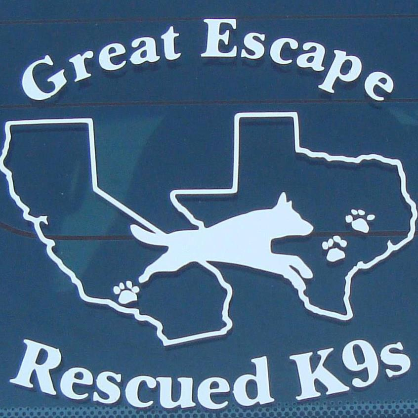 Great Escape Rescued K9s