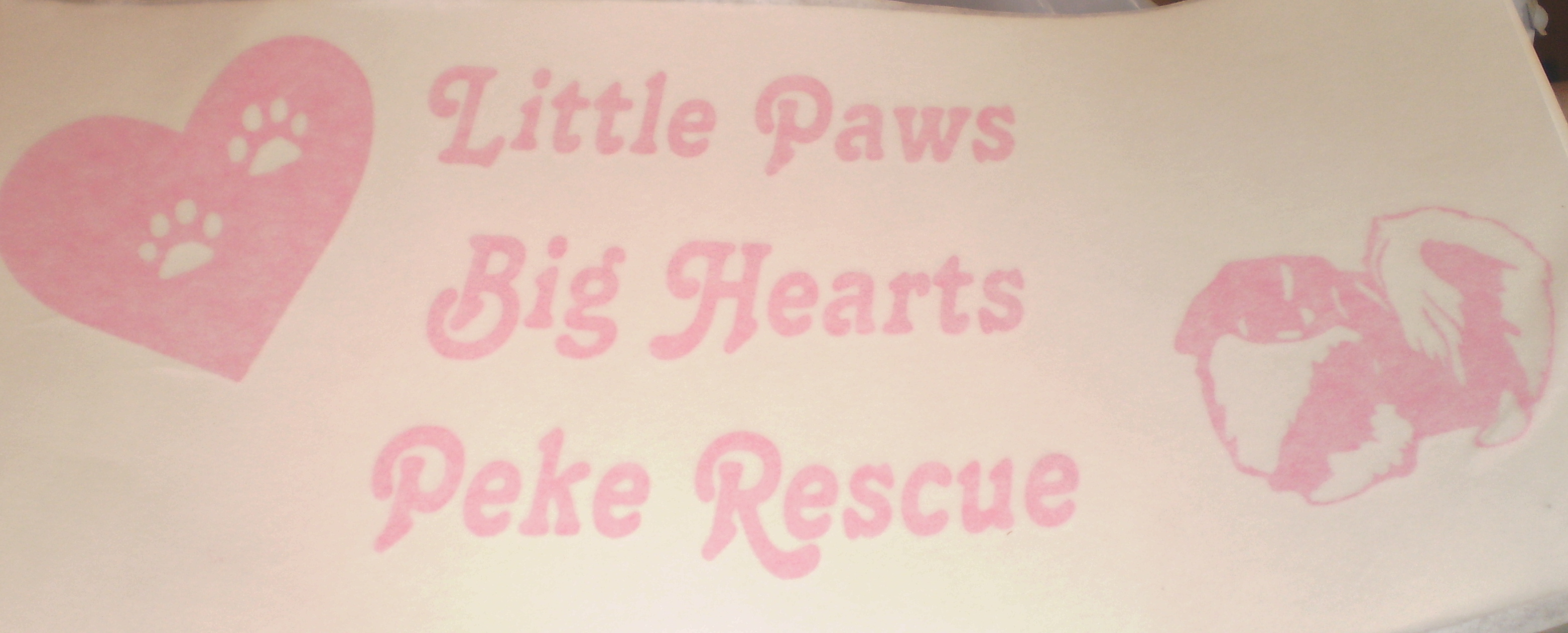 Little Paws Big Hearts Pekingese Rescue